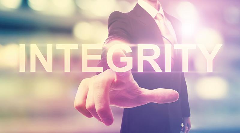 l'importanza dell'integrità