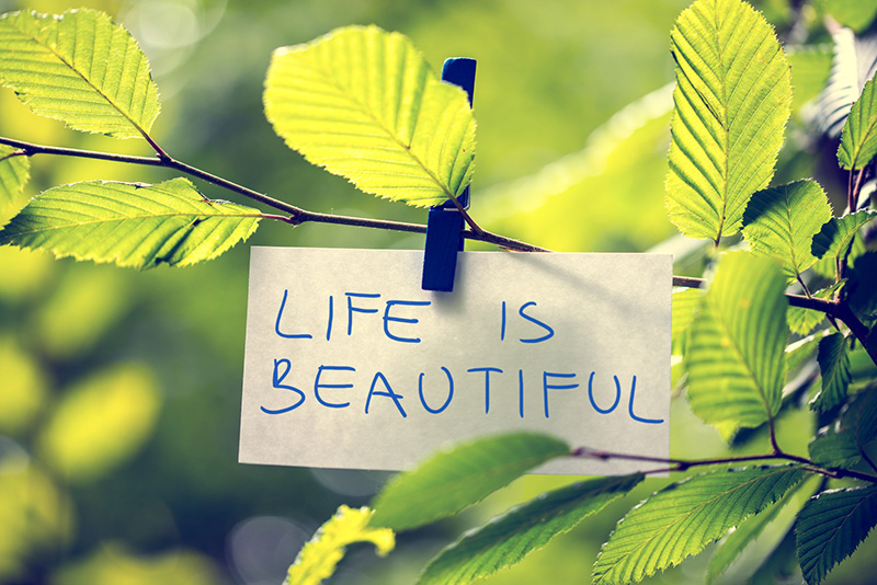Life is beautiful: venendo al Narconon ho scelto la vita